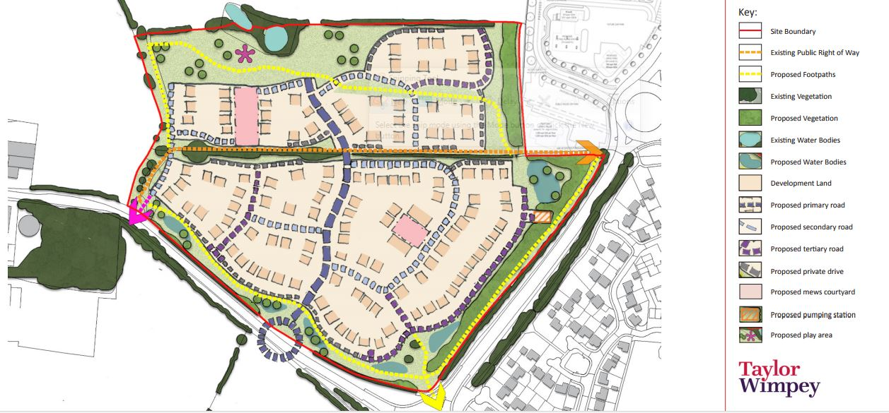 Public Meeting 13/09/2017 – New Housing plans for Wesham