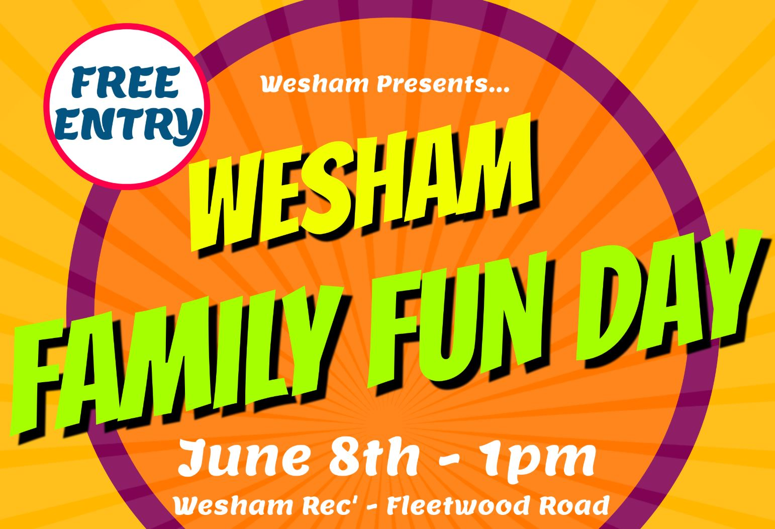 Wesham Family Fun Day 2019